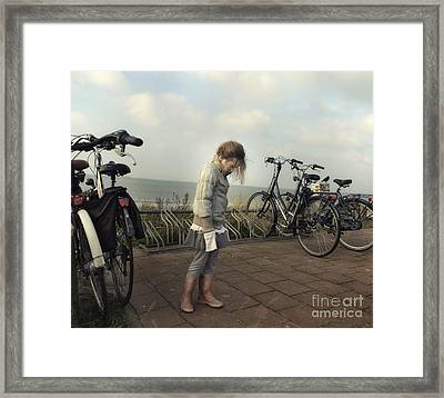 Child In Time Framed Print by Michel Verhoef