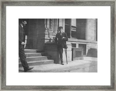 Child Labor, Boy With One Leg, Neil Framed Print by Everett