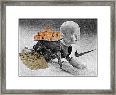 Child Labour Framed Print by Liggyzighat