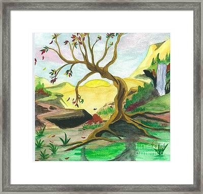 Child Of Earth Framed Print by Jeanel Walker
