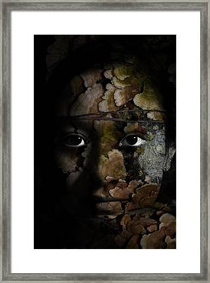 Child Of The Forest Framed Print by Christopher Gaston