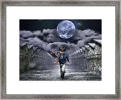 Child Of The Moon Framed Print