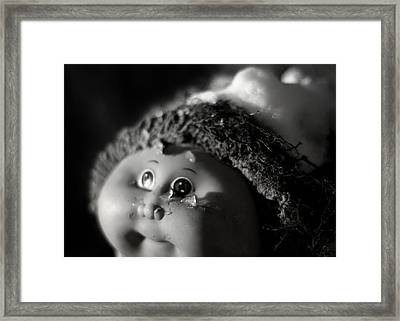 Child Of The Universe Framed Print by Rebecca Sherman