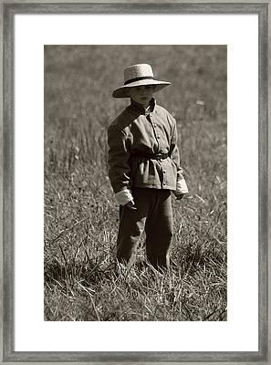 Child Of War Perryville Ky Framed Print