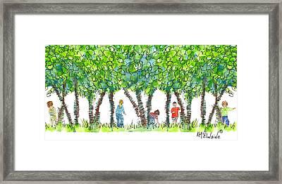 Child Play Framed Print
