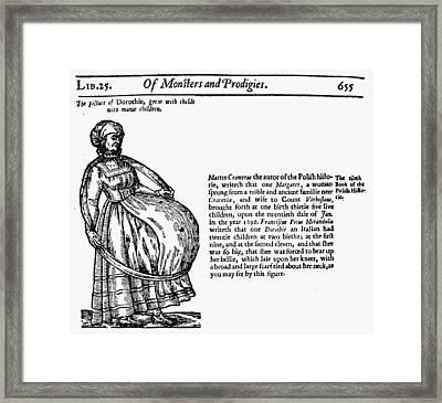 Childbirth Anomalies Framed Print