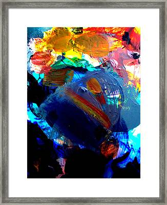 Framed Print featuring the digital art Childhood by Christine Ricker Brandt