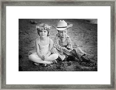 Childhood Framed Print by Cindy Singleton