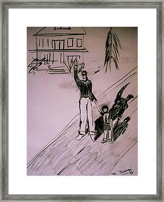 Childhood Goodbye Framed Print by Mike Manzi
