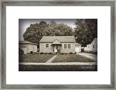 Childhood Home Framed Print by Bob and Nancy Kendrick