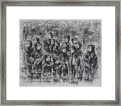 Childhood Lost Framed Print by Rachel Christine Nowicki