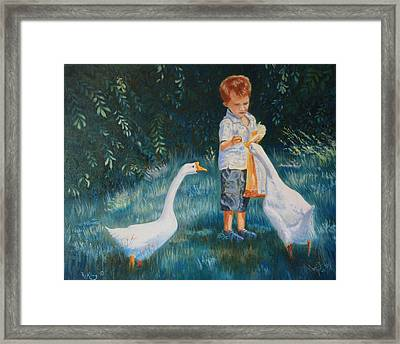 Childhood Memories Framed Print