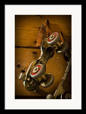 Old Skates Framed Prints