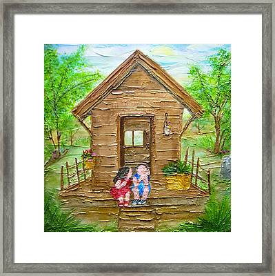 Childhood Retreat Framed Print by Jan Wendt