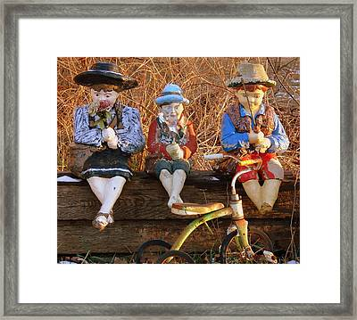Framed Print featuring the photograph Childhood by Rodney Lee Williams
