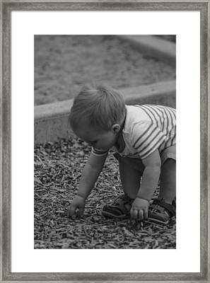 Childhood Treasures Framed Print by Missy Boone