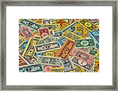 Childhood Wealth Framed Print by Benjamin Yeager