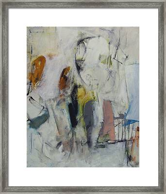 Framed Print featuring the painting Children by Fred Smilde