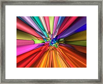 Children Of Light Framed Print by Wendy J St Christopher