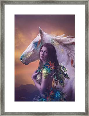 Children Of Rihm Framed Print