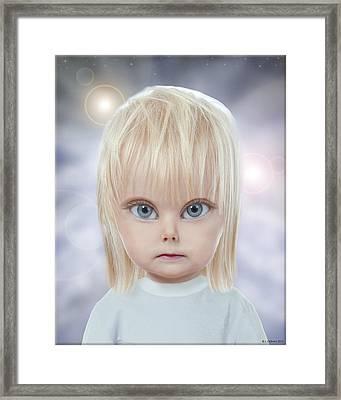 Children Of The Greys Framed Print by Jeffrey Oldham
