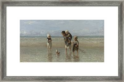 Children Of The Sea Framed Print