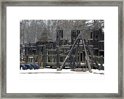 Framed Print featuring the photograph Children Will Play by Gena Weiser