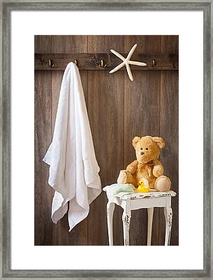 Childrens Bathroom Framed Print