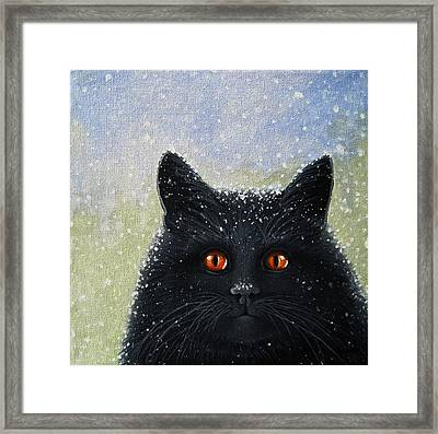 Children's Book Cover Painting Framed Print by Linda Apple