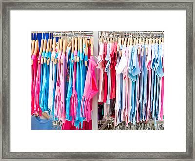 Children's Clothes Framed Print
