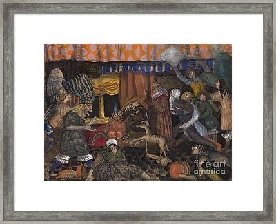 Childrens Masquerade Framed Print by Celestial Images