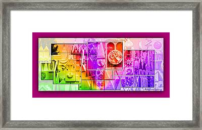 Children's Small World Framed Print
