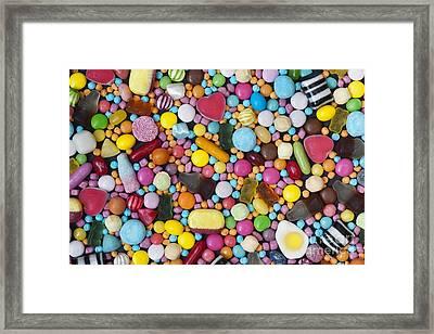 Children's Sweets Framed Print