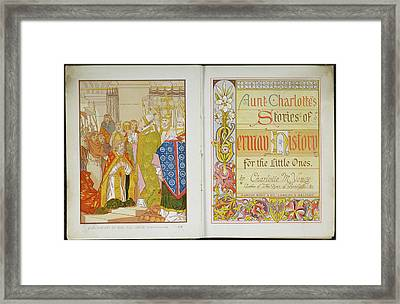 Child's History Of Germany Framed Print by British Library
