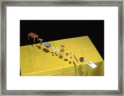 Child's Play Framed Print by Daniel Furon
