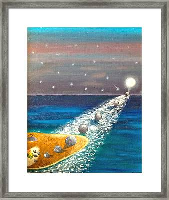 Child's Play Framed Print by Margarita Gokun