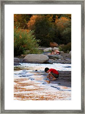 Childs Play Framed Print by Melanie Lankford Photography