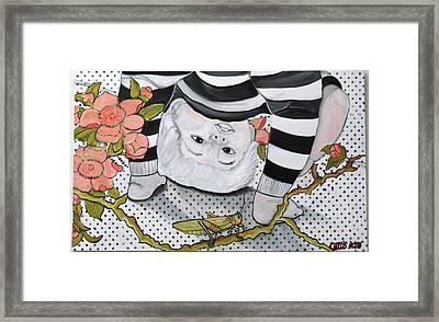Child's Pose Framed Print