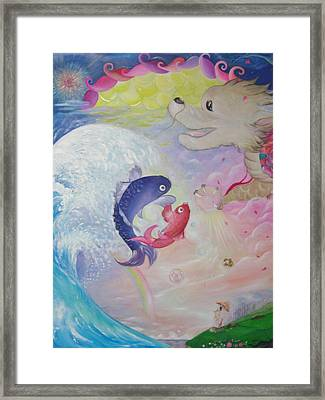 Child's Young Heart Framed Print by Takami
