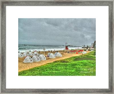 Chile Beach Day South America Framed Print by Tap On Photo