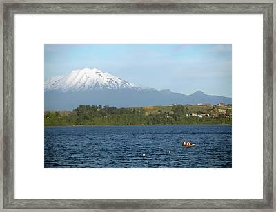 Chile, Puerto Varas Framed Print by Kymri Wilt