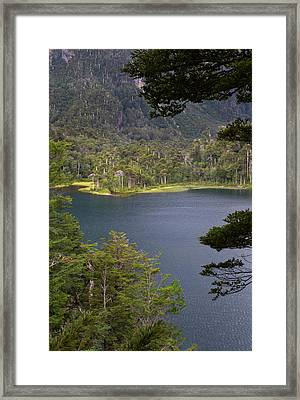 Chile South America Lago El Toro Framed Print