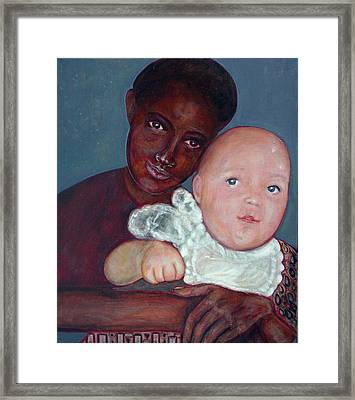 Chilhood Framed Print by Isabelle Ehly