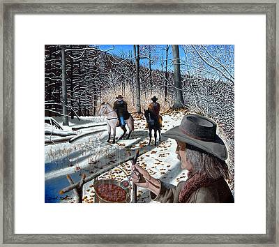 Chili Weather II Framed Print by Brad McLean