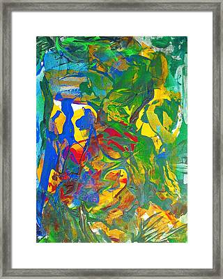 Chill I Knew This Jungle Years Ago    2013 09 26  Copy Framed Print by Bruce Combs - REACH BEYOND