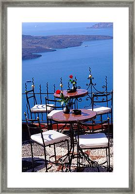 Chillax Framed Print by Haleh Mahbod