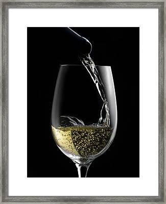 Chilled White Framed Print by Dennis James