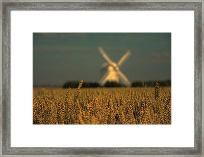Chillenden Windmill Framed Print