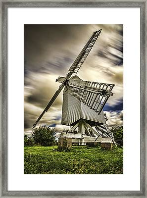 Chillenden Windmill Kent Framed Print