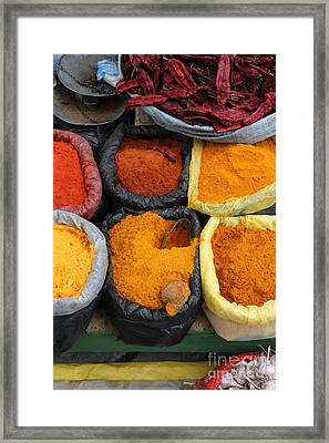 Chilli Powders 3 Framed Print